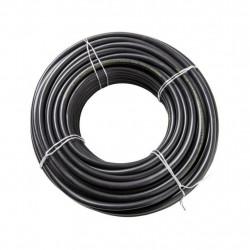 Cable vaina redonda 2x1mm2 x 3 metros grosor de 6.75mm
