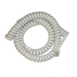 Cable retractil 4 contactos con 2 fichas fte 0564m