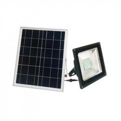 Proyector litex lx930 led rgb 10w con panel solar con...