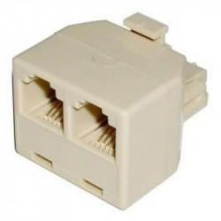 Adaptador divisor de linea telefonica fte-pa5
