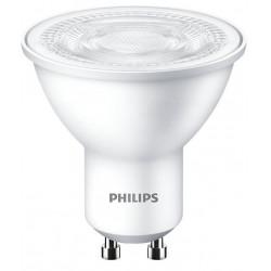 Lámpara dicroica philips led spot gu10 de 4.7w luz cálida