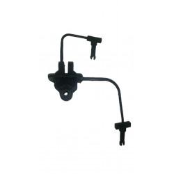 Aislador alari 70a9009/2 doble perno nylon reforzado