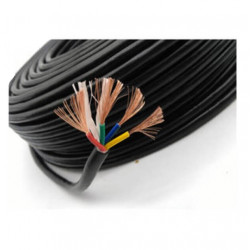 Cable vaina redonda  5x  2.5 mm2