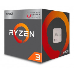 Microprocesador amd ryzen 3 2200g 3.7ghz con video 4mb 4...