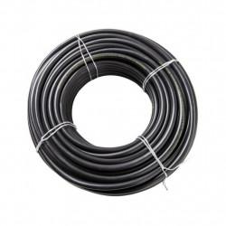 Cable vaina redonda 2x1.5mm2 x 3 metros grosor de 7.65mm