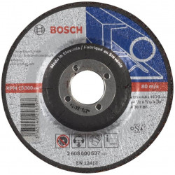 Disco de desbaste bosch de metal 115x48mm