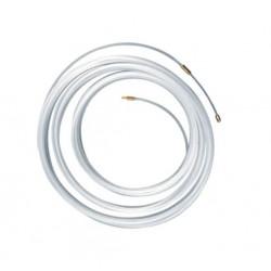 Cinta pasacable de nylon 15 m diametro 4 mm color