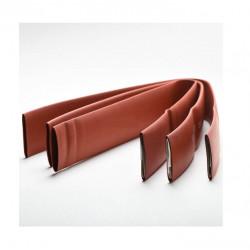 Tubo tacsa termocontraible 4.8 a 2.4mm 3/16 marron