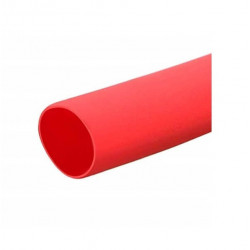Tubo tacsa termocontraible 6.4 a 3,2mm 1/4 rojo