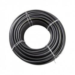 Cable vaina redonda 2x4mm2 x 20 metros grosor de 10.75mm
