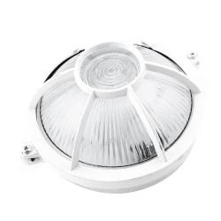 Tortuga redonda aluminio 60w blanco