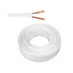 Cable paralelo bipolar de 0,50mm2 x 20mts