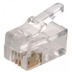 Conector americano rj9 4 contactos para micro