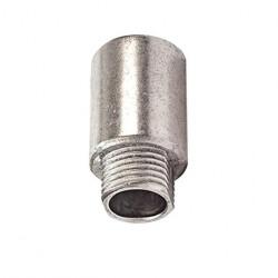 Conector gc largo 3/4 aluminio sin tuerca
