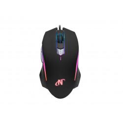 Mouse nisuta ns-mog74 gamer usb 6d 3200dpi