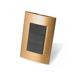 Roda tapa 3 modulos dorado