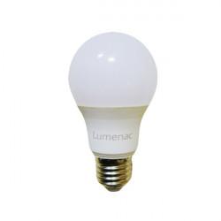 Lampara led lumenac bulbo a60 de 11w 3000ºk 220-240v e27