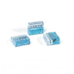 Conector 5 polos hellermann tyton 24a 450v 0.5/2.5 mm2 azul