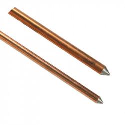 Jabalina j-250 de cobre d18 3/4 x 3,0 mts 250 micrón iram...
