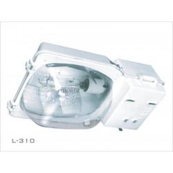Artefacto lanin alumbrado 250/400w con portaequipo l-310