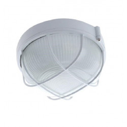 Tortuga e27 de aluminio redonda 150w blanca