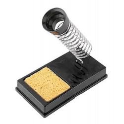 Soporte para soldador zurich sy-10 con esponja limpia punta