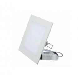 Panel silverlight led sldlc12wc cuadrado 12w 3000k