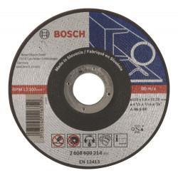 Disco de corte bosch metal recto 115x1,6mm