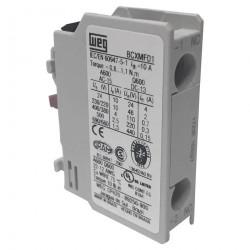 Bloque de contactos weg bcxmf01 1nc frontal para contactor