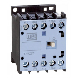 Minicontactor weg cwc 07.10 - 220v  7 amp 1na