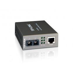 Media converter tp-link mc100cm 10/100mbps rj45 multimodo...