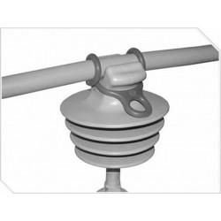 Aislador linea protegida polimerico perno rigido 15kv