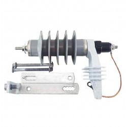 Descargador fapa 15kv-10ka polimerico con soporte y...