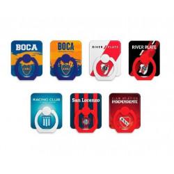 Soporte web anillo para celular ringo futbol diseños