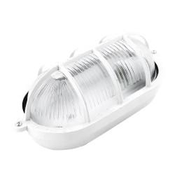 Tortuga ovalada de aluminio 60w blanca