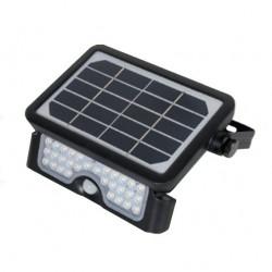 Luminaria lumenac solar 105 ip65 de pared 5w 500lm 4000°k...