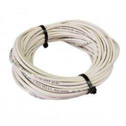 Cable unipolar 4,00mm2 x 30mts blanco