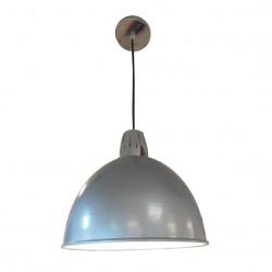 Colgante dabor campana n°11 de chapa 315mm gris interior...
