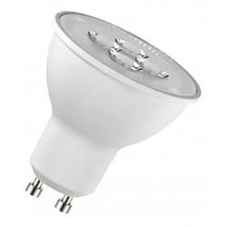 Lámpara dicroica silverlight led sl gu10 de 5.4w luz cálida