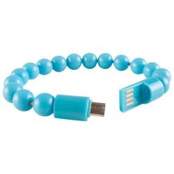 Cable usb noga m12 micro pulsera perla