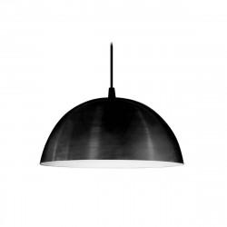 Colgante san justo baradero aluminio 1 luz 340mm negro