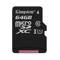 Memoria micro sd kingston sdcs/64gb clase 10 64gb