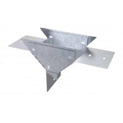Union t vertical basica paralela descendiente perforada...