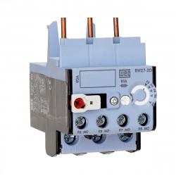 Rele térmico weg rw27-2d3 de 1.8-2.8a para montaje cwb 9-38